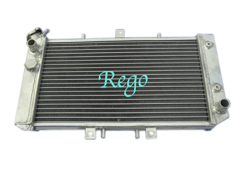 1 Row Aluminum ATV Radiator for 03-07 POLARIS 500 Outlaw 450S 08-10 525 07-11